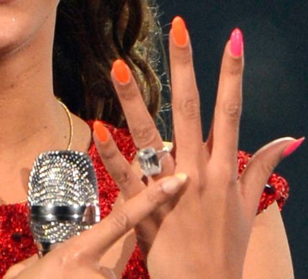 Beyonce's nails at Revel