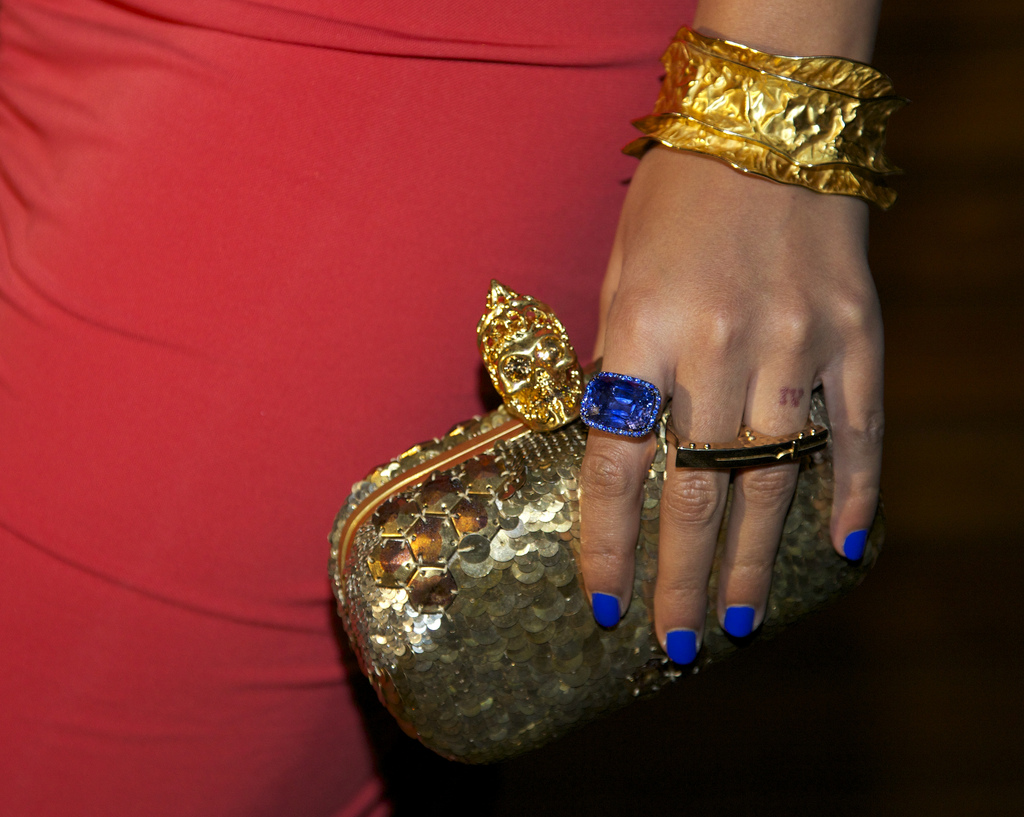 Beyonce's nails