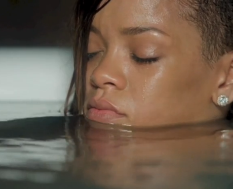 "Rihanna, for ""Stay"" music video."