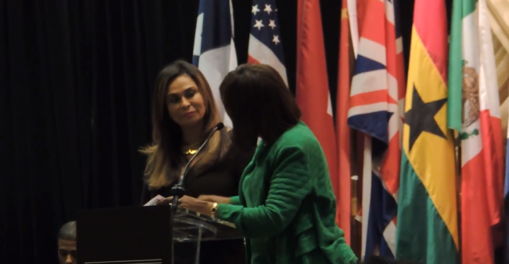 Tina Knowles as keynote speaker