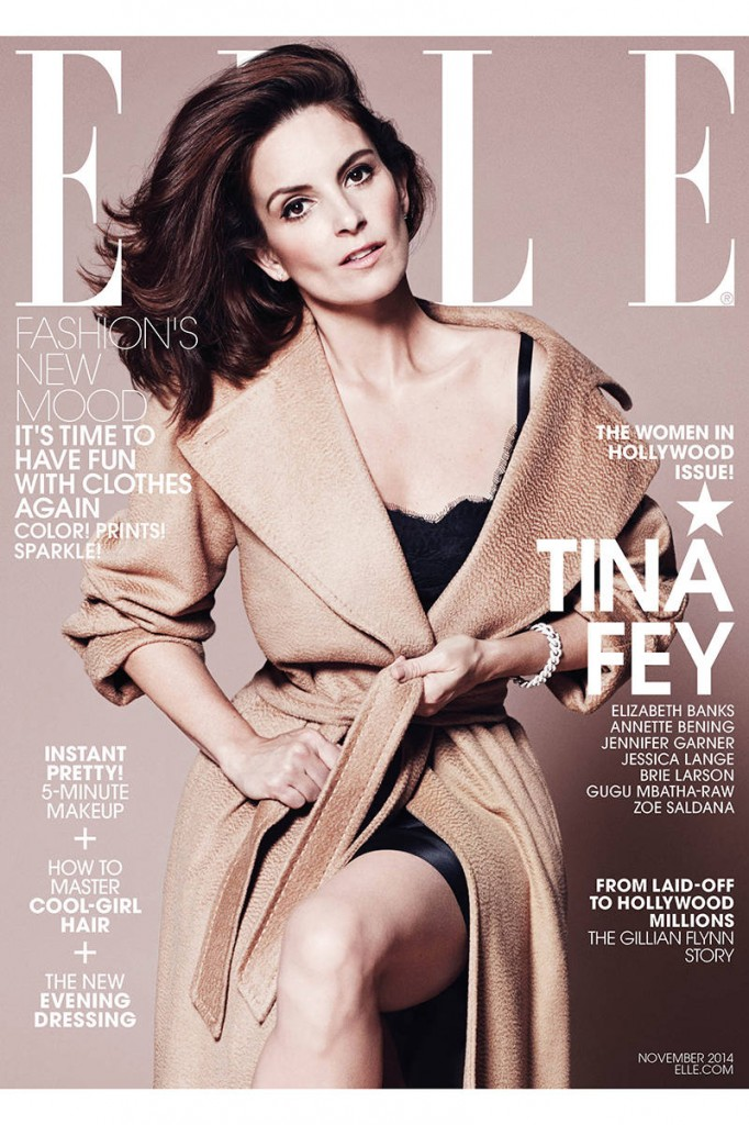 Tina Fey Elle Magazine November 2014 Cover