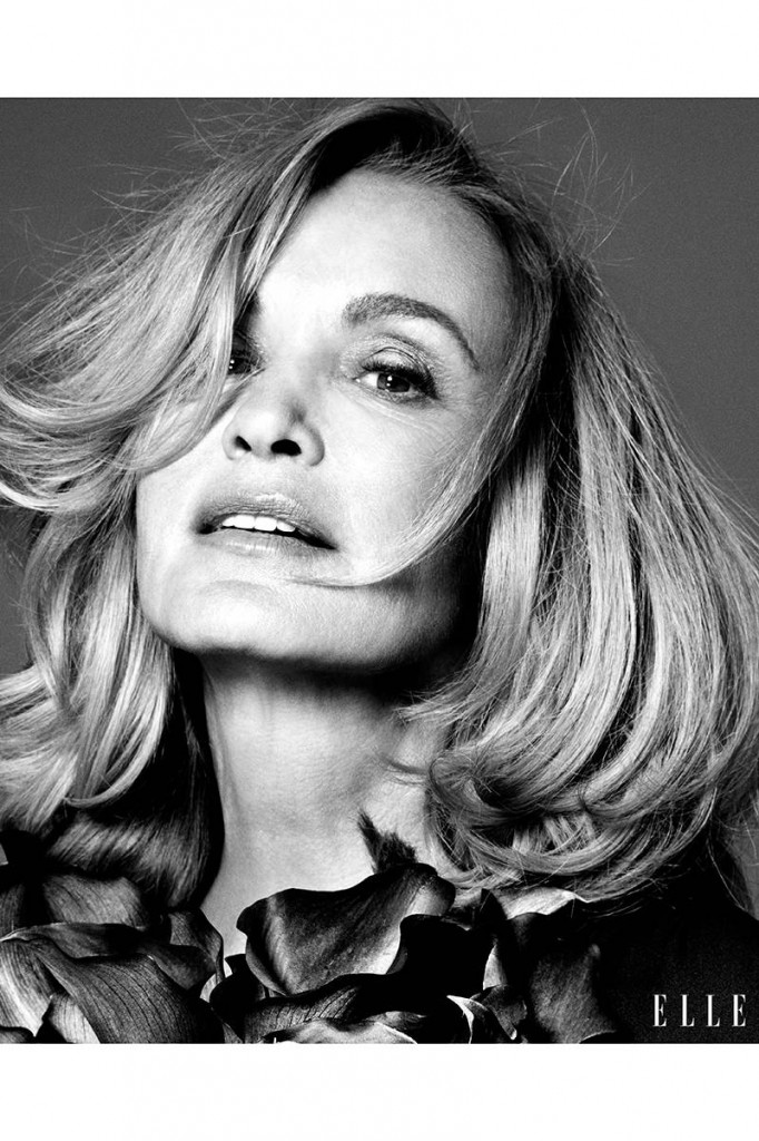 Jessica Lange Elle Magazine November 2014 Cover