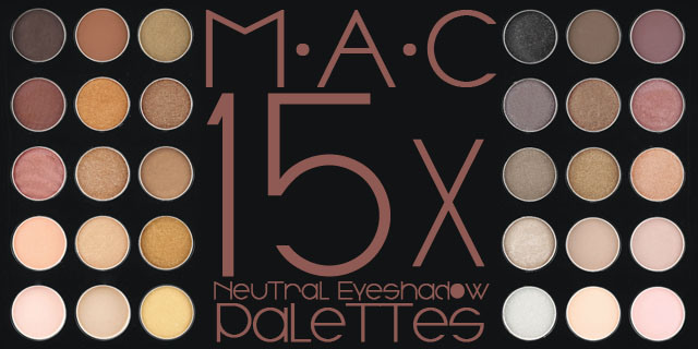 MAC Eyeshadow x 15 Eyeshadow