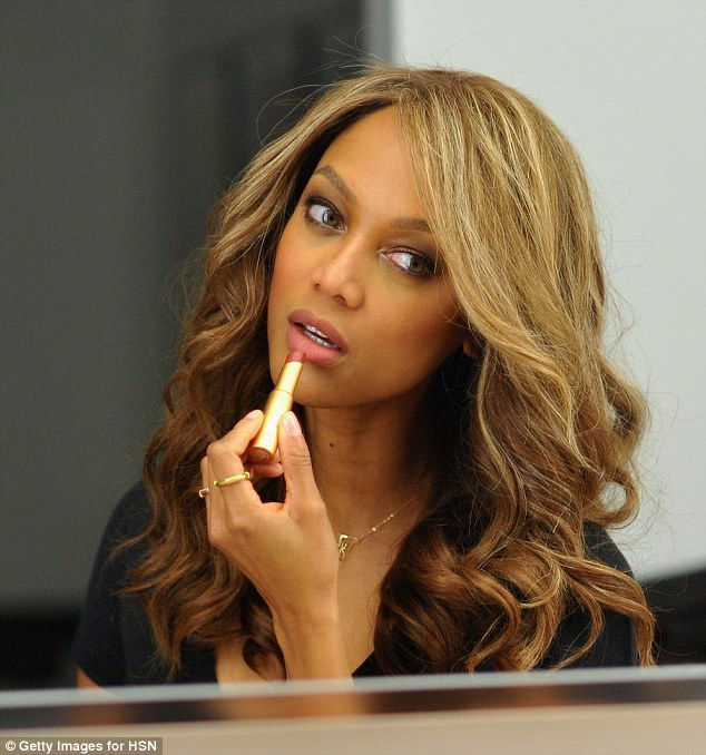 Tyra Banks Agency: TYRA BANK LAUNCHES HER NEW MAKEUP LINE, AND IT ROCKS! « In