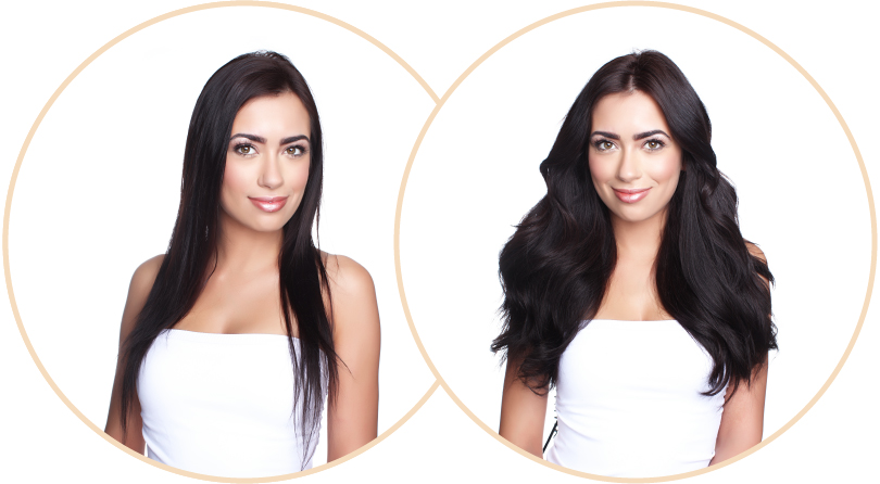 Before & After With Halo Extensions