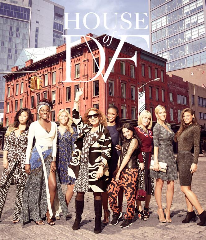 """Diane Von Furstenberg """"House of DVF"""" featuring Prestige Artist Abs Petit"""