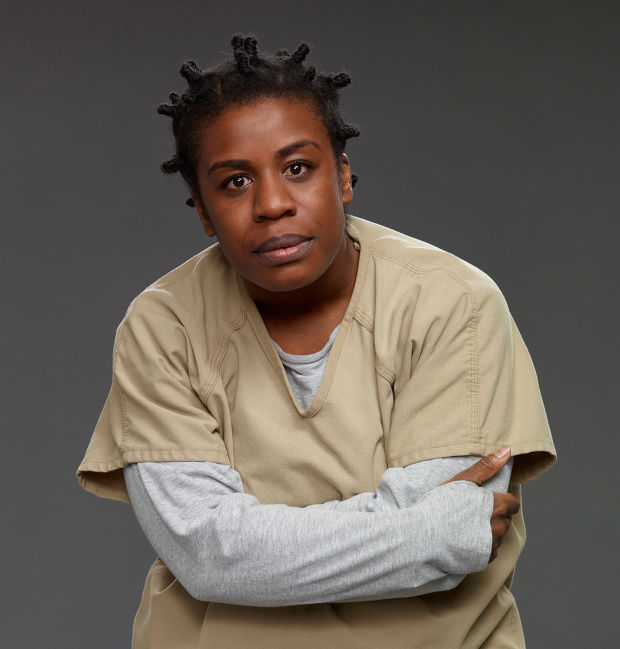 Uzo Aduba as Crazy Eyes from Orange Is The New Black