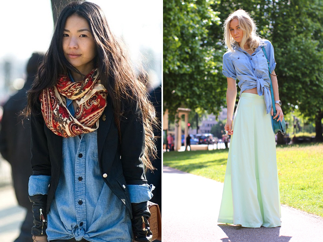 Knotted Shirts