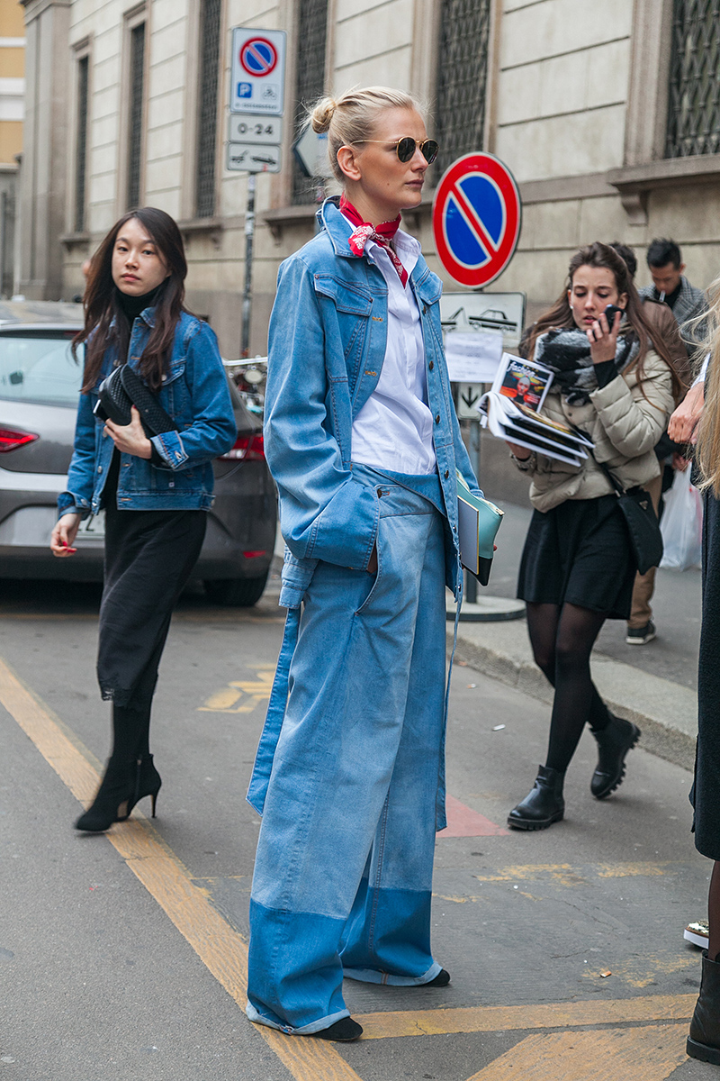 FENDI street style, photo by Aleksei Kipenko, @kipenkocom
